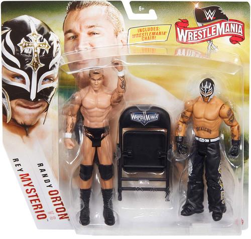 WWE Wrestling Battle Pack WrestleMania 36 Randy Orton Vs Rey Mysterio Action Figure 2-Pack