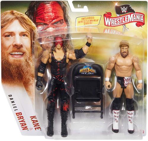 WWE Wrestling Battle Pack WrestleMania 36 Kane & Daniel Bryan Action Figure 2-Pack