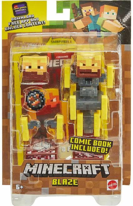 Minecraft Comic Maker Blaze Action Figure