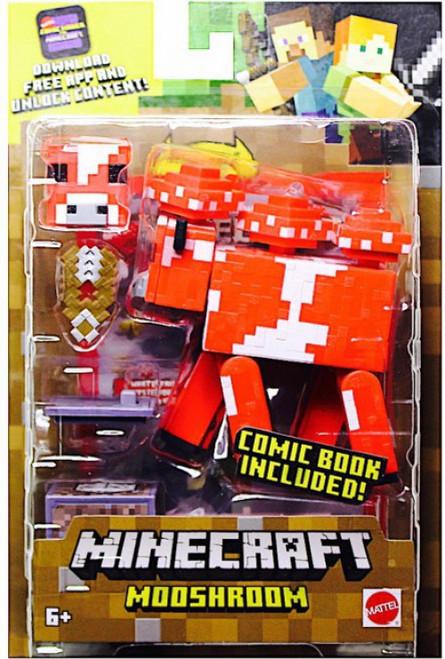 Minecraft Comic Maker Mooshroom Action Figure