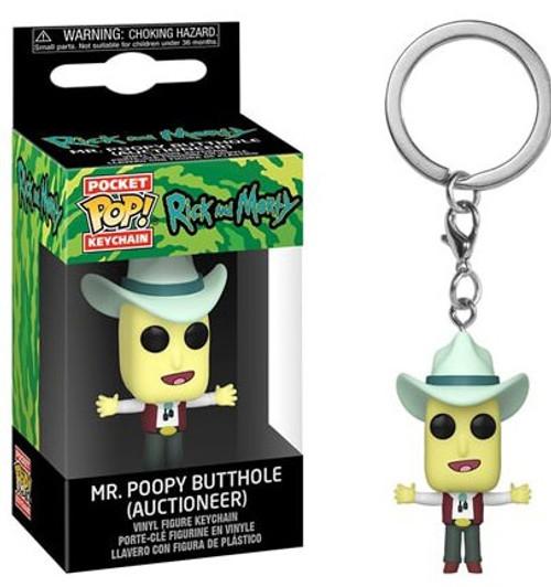 Funko Rick & Morty Pocket POP! Mr. Poopybutthole Keychain