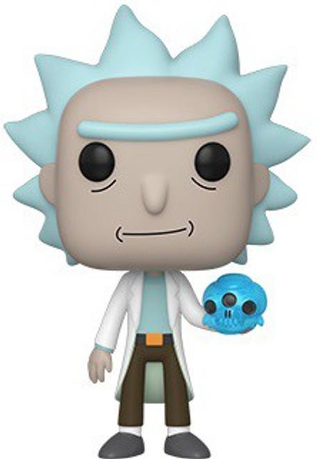 Funko Rick & Morty POP! Animation Rick with Crystal Skull Vinyl Figure #692