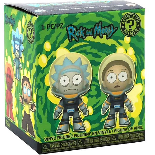 Funko Mystery Minis Rick & Morty Series 3 Mystery Pack