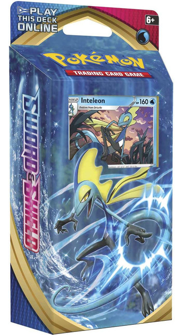Pokemon Trading Card Game Sword & Shield Base Set Inteleon Theme Deck