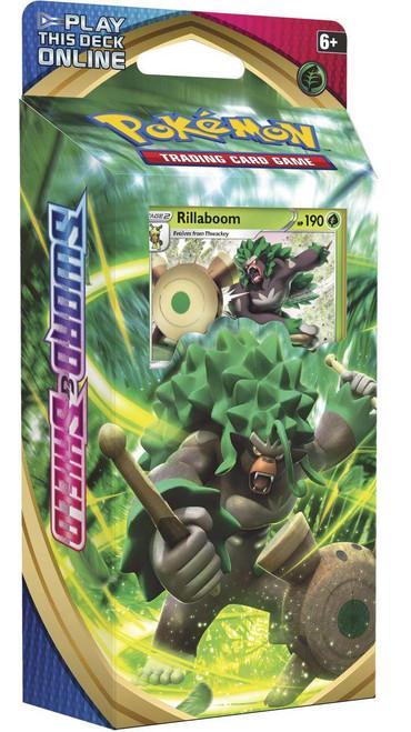 Pokemon Trading Card Game Sword & Shield Base Set Rillaboom Theme Deck