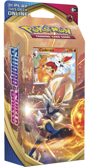 Pokemon Trading Card Game Sword & Shield Cinderace Theme Deck