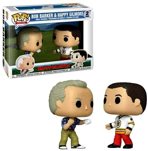 Funko POP! Movies Happy Gilmore & Bob Barker Vinyl Figure 2-Pack
