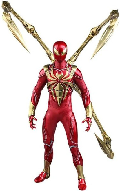 Marvel Spider-Man Video Game Masterpiece Iron Spider Armor Collectible Figure VGM38