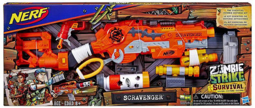 NERF Zombie Strike Scravenger Blaster