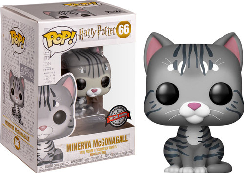 Funko Harry Potter POP! Movies Minerva McGonagall Exclusive Vinyl Figure #66 [Animagus Cat]