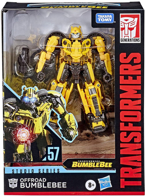 Transformers Generations Studio Series Offroad Bumblebee Deluxe Action Figure #57 [Jeep, Bumblebee Movie]