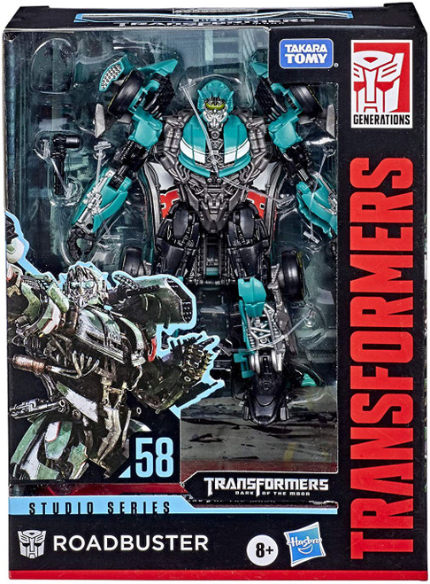 Transformers Generations Studio Series Roadbuster Deluxe Action Figure #58 [Dark of the Moon]