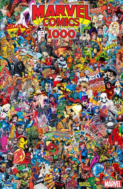 Marvel Comics #1000 Comic Book [Mr. Garcin Collage Variant Cover]