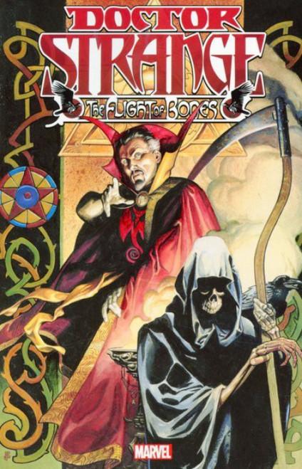 Marvel Comics Doctor Strange The Flight of Bones Trade Paperback Comic Book