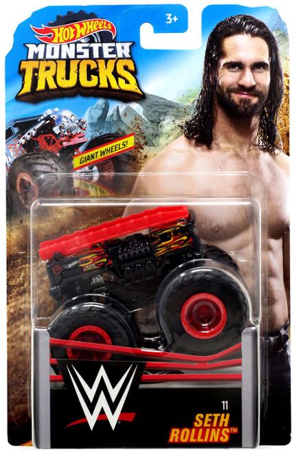 Hot Wheels Monster Trucks WWE Seth Rollins Diecast Car