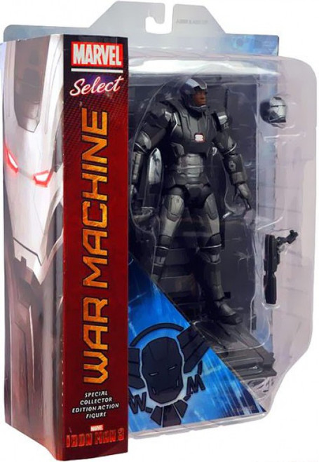 Iron Man 3 Marvel Select War Machine Action Figure [Iron Man 3, Damaged Package]