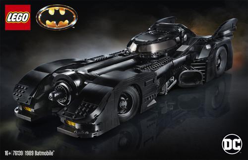 LEGO DC Batman 1989 Batmobile Set #76139