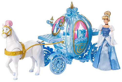 Disney Princess Cinderella and Carriage Deluxe Gift Exclusive Play Set