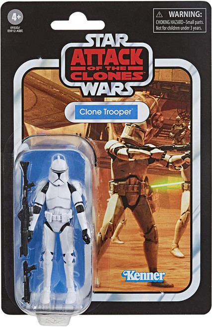 Star Wars Attack of the Clones Vintage Collection Clone Trooper Action Figure