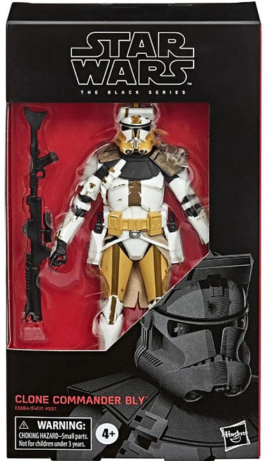 Star Wars The Clone Wars Black Series Clone Commander Bly Action Figure