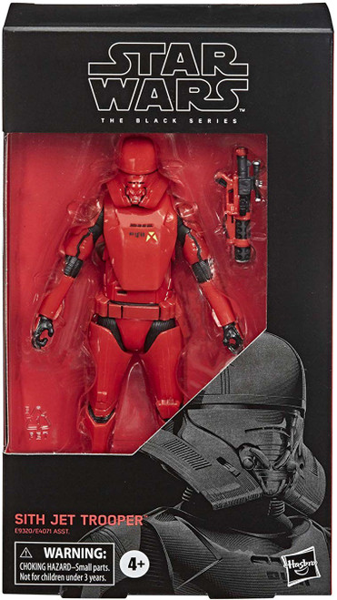 Star Wars The Rise of Skywalker Black Series Sith Jet Trooper Action Figure
