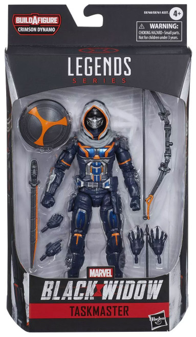 Black Widow Marvel Legends Crimson Dynamo Series Taskmaster Action Figure [Movie Version]