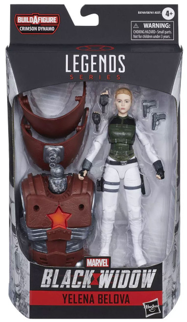 Black Widow Marvel Legends Crimson Dynamo Series Yelena Bolova Action Figure