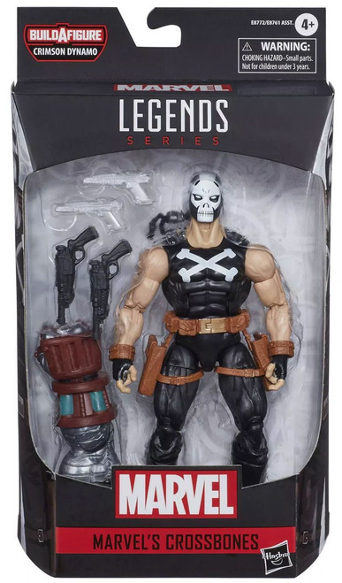 Marvel Legends Crimson Dynamo Series Crossbones Action Figure [Classic Comic Version]