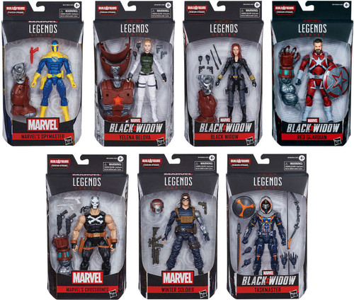 Marvel Legends Crimson Dynamo Series Set of 7 Action Figures