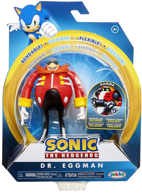 Sonic The Hedgehog 2020 Series 2 Dr. Eggman Action Figure