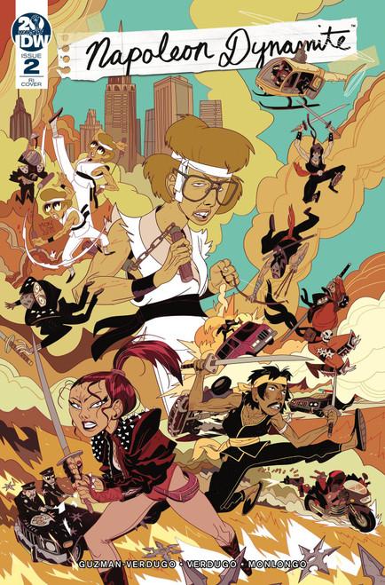 IDW Napoleon Dynamite #2 Comic Book [Jorge Monlongo Variant Cover]