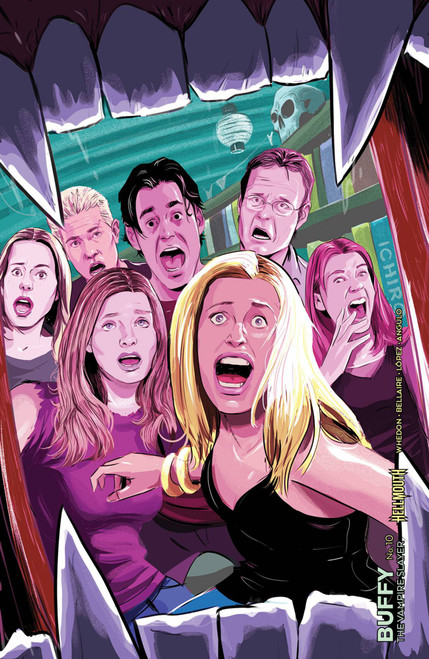 Boom Studios Buffy The Vampire Slayer #10 Comic Book [Ryan Inzana Cover D Variant]