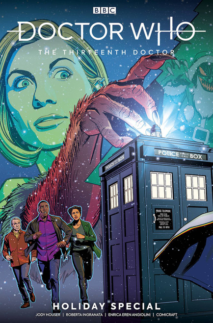 Titan Comics Doctor Who The Thirteenth Doctor Comic Book [Holiday Special]
