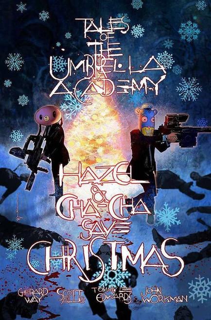 Dark Horse Hazel & Cha Cha Save Christmas Tales Umbrella Academy #1 Comic Book [Bill Sienkiewicz Local Comic Shop Day Variant Cover]