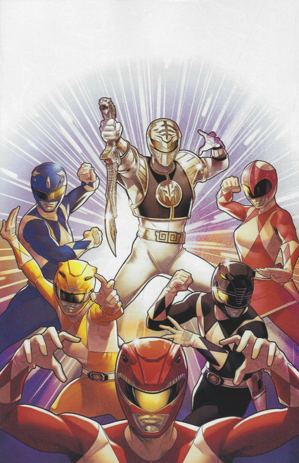 Boom Studios Mighty Morphin Power Rangers #40 Necessary Evil Comic Book [Campbell Variant Cover]