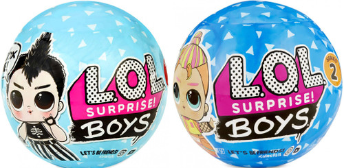 LOL Surprise Boys Series 1 & 2 COMBO of 2 Mystery Packs