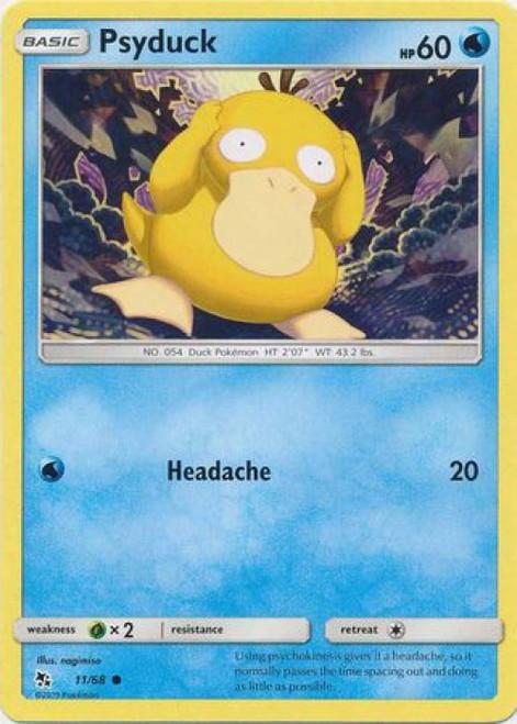 Pokemon Trading Card Game Hidden Fates Common Psyduck #11
