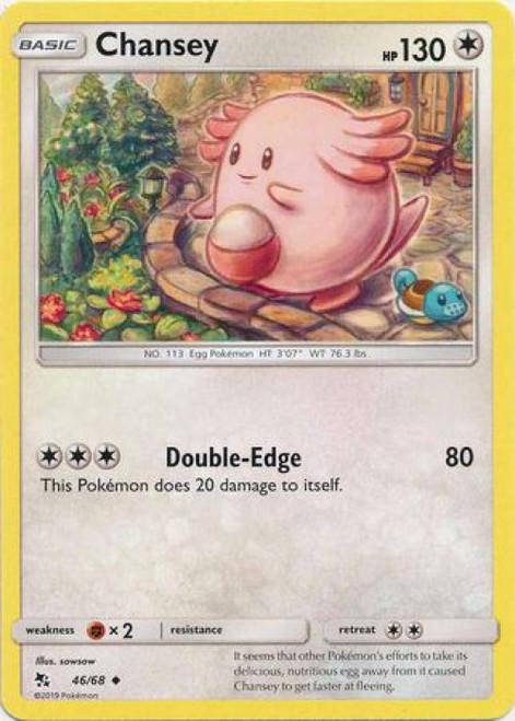 Pokemon Trading Card Game Hidden Fates Uncommon Chansey #46