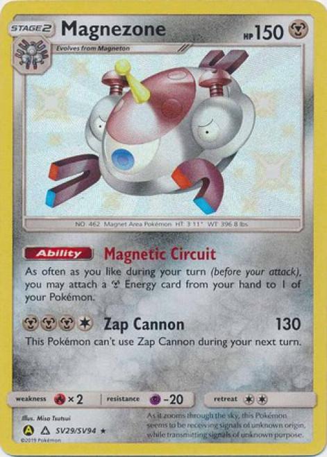 Pokemon Trading Card Game Hidden Fates Shiny Rare Magnezone SV29
