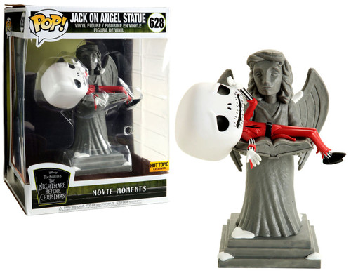 Funko Nightmare Before Christmas POP! Disney Jack on Angel Statue Exclusive Vinyl Figure #628