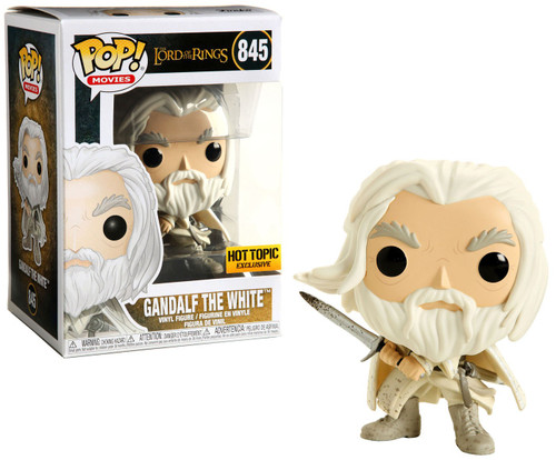 Funko Lord of the Rings POP! Movies Gandalf the White Exclusive Vinyl Figure #845