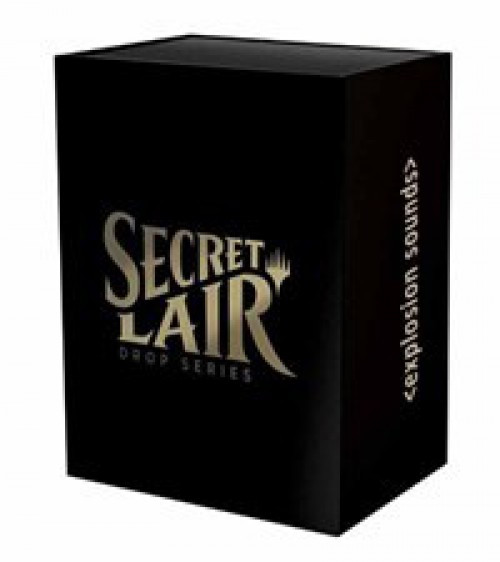 "MtG ""Explosion Sounds"" Secret Lair Drop Series"