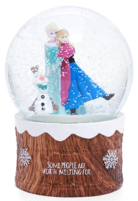 Disney Frozen Frozen 2 Anna, Elsa & Olaf Exclusive Snow Globe
