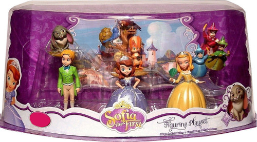 Disney Sofia the First Figurine Playset Exclusive 3-Inch [Damaged Package]