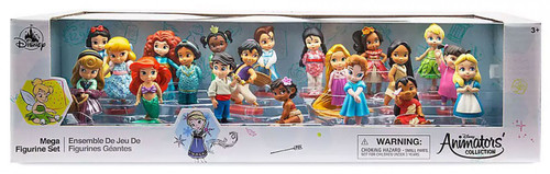 Disney 2019 Animators Collection Exclusive 20-Piece PVC Mega Figurine Playset [Damaged Package]