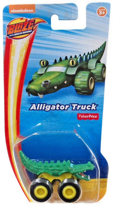 Fisher Price Blaze & the Monster Machines Nickelodeon Alligator Truck Vehicle [Loose]