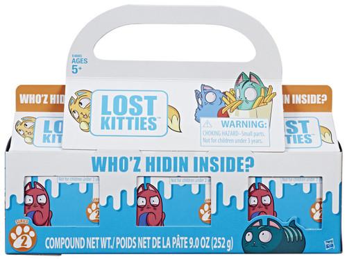 Lost Kitties Series 2 Mystery 3-Pack [Wave 2, Damaged Package]