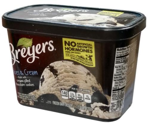 5 Surprise Mini Brands! Breyers 1-Inch Miniature [Cookies & Cream Loose]