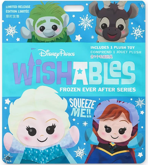 Disney Wishables Frozen Ever After 5-Inch Micro Plush Mystery Pack