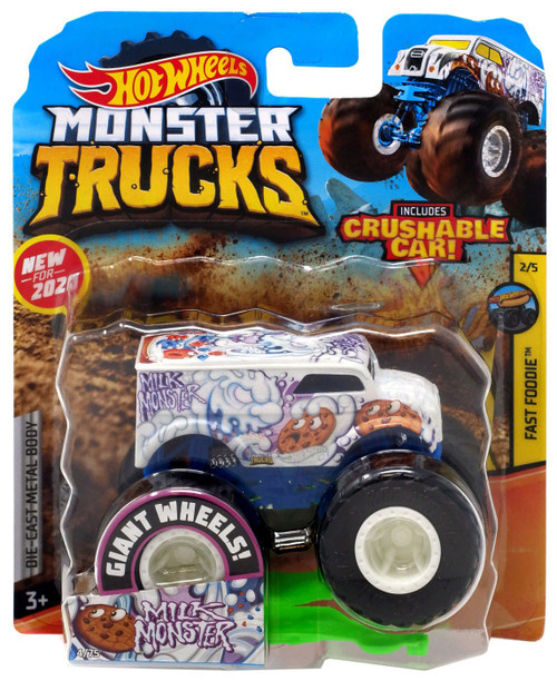 Hot Wheels Monster Trucks Milk Monster Diecast Car [1:64]